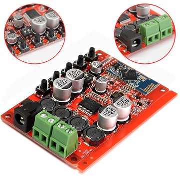 25W+25W TDA7492P Wireless Bluetooth CSR4.0 Audio Digital Receiver Amplifier Board Updated Version