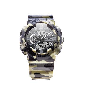 SANDA 799 Men Camouflage Military Waterproof Digital Watch