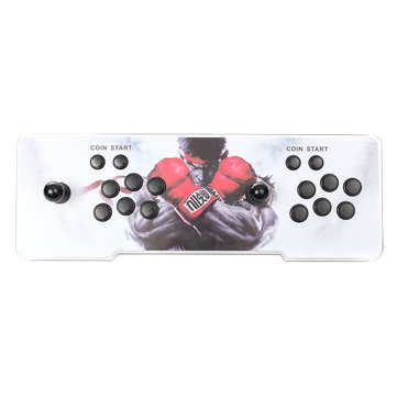 PandoraBox 5s 3D Classic Video Games HD 1080P LED Light Arcade Game Console Double Stick