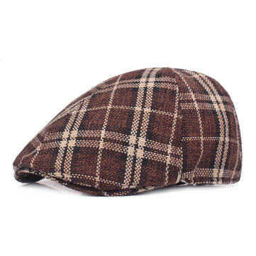 Men Summer Breathable Outdoor Cotton Beret Hat