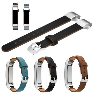 Replacement PU Leather Watch Wrist Band Strap Bracelet For Fitbit Alta Tracker