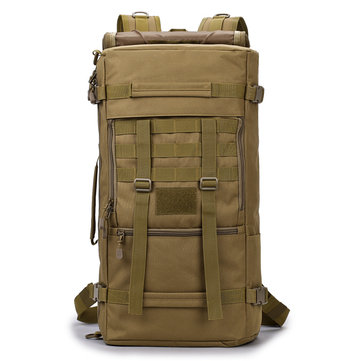 FAITH PRO 50L Men's Military Tactical Backpack Multifunction Camping Mountaineering Rucksack Bag