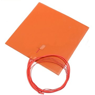 200*200mm 200w 12v Waterproof Silicone Heating Pad For 3D Printer