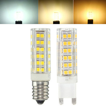 G9 E14 5W 76 SMD 2835 LED Pure White Warm White Natural White Light Lamp Bulb AC220V