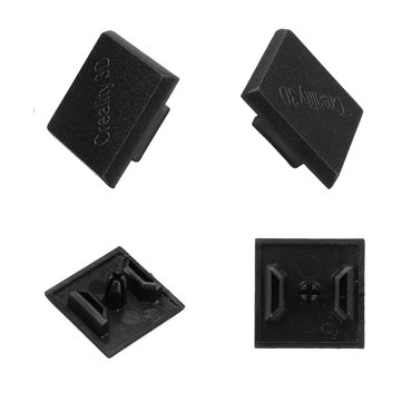 Creality 3D® 2020 Black Plastic ABS End Cap Cover for Aluminum Profile Extrusion 3D Printer Part