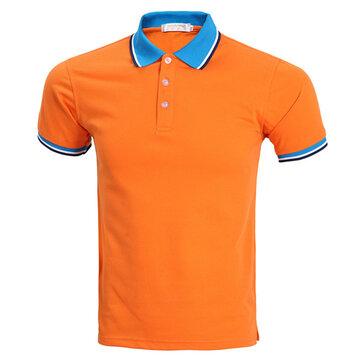 เสื้อกันหนาวแขนสั้นสีส้มแบบสั้น ๆ 7 สี