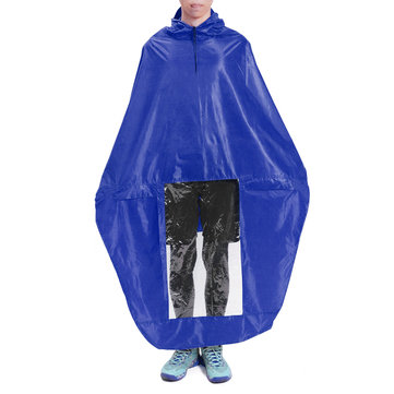 Motorcycle Raincoat Universal Adults Red Blue