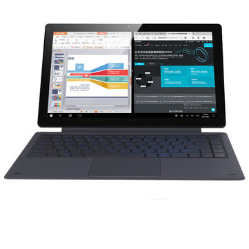 Original Box Alldocube KNote 8 256GB SSD Intel Kaby Lake M3 7Y30 13.3 Inch Windows 10 Tablet With Keyboard