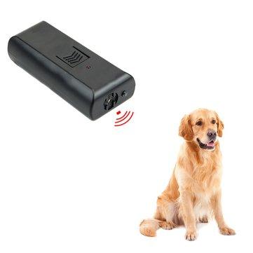 Pet Собака Отпугиватель Обучение LED Портативный ультразвук Собака Отпугиватель Крытый Собака Обучение Отпугиватель животных