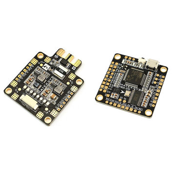 Matek F405-STD BetaFlight STM32F405 Flight Controller+Matek FCHUB-6S Hub Power Distribution Board for RC Drone