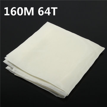 160M 64T Polyester Silk Screen Printing Mesh Fabric Sheet