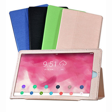 Tri-fold Stand PU Leather Case Cover for Hisense F6281 Magic Mirror Tablet