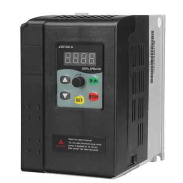 2.2KW 220V 9.5A 1HP To 3 Phase Variable Frequency Inverter Motor Drive VSD VFD