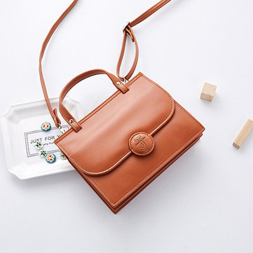 Women Faux Leather Brief Stylish Shoulder Bag