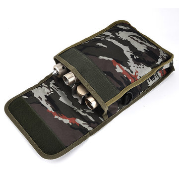 IPRee™ Multi-function Pocket Canvas Camouflage Tools Kit Tool Bag Outdooors Sports Travel Package