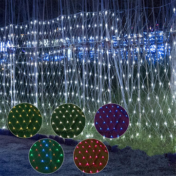 3x3m Waterproof LED Curtain Fairy String Light Wedding Party Outdoor Decoration EU Plug AC220V