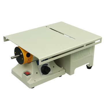 350W Mini Table Bench Saws Woodworking Bench Lathe Electric Polisher Grinder Cutting Saw Power Tools