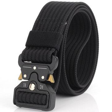 125cm KALOAD C01 3.8cm Nylon Belts For Men Women Metal Inserting Buckle Military Tactical Belt