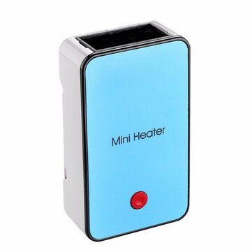 Portable Mini Handheld Electric Winter Heater Desktop Air Fan Warmer
