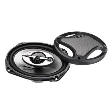 Pair 1000W 6x9 Inch 3 Way 2.5 Ohms Super Tone Car Door Coaxial Dash Audio Speakers