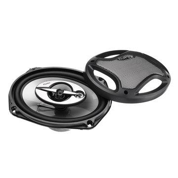 Pair 1000W 6x9 Inch 3 Way 2.5 Ohms Super Tone Car Door Coaxial Dash Audio Speakers