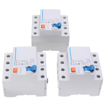 AC 400V 25/40/63A 4 Pole Rated Current Supplemental Protector Miniature Circuit Breaker