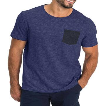 T-shirts à manches courtes à séchage rapide Soft pour hommes, à séchage rapide