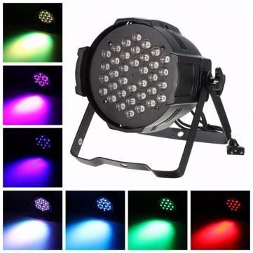 150W 36 RGB 4 Mode LED DMX 6CH Stage Par Light Laser Projector Party Show DJ Disco