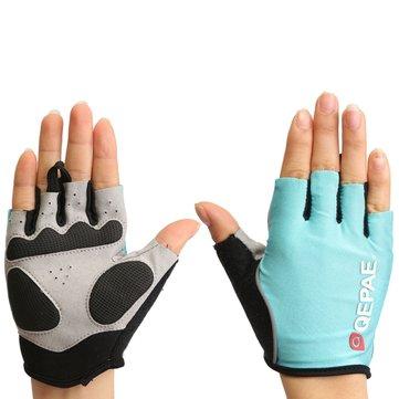 Половина палец перчатки мотоцикл велосипед езда на велосипеде лето весна для qepae qg055