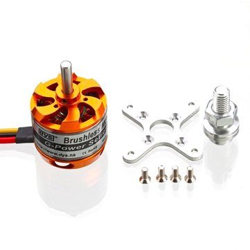 DYS D3536 910KV 1000KV 1250KV 1450KV 2-4S Brushless Motor (Coupon: BGD3536)