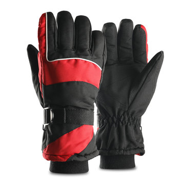 Unisex Winter Dedicated Three-Layer Thick Warm Sport Gloves
