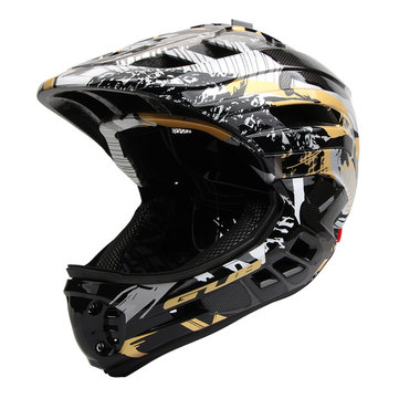 Children Cycling PRO Full Face Helmet Removable Breathable Scooter PC+EPS 53-58cm