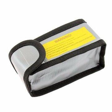 YND0045 LiPo แบตเตอรี่ ถุงป้องกันความปลอดภัยการระเบิด 64x50x125 มม