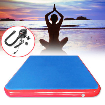 118x78.7x3.94inch Inflatable Air Track Mat Outdoor Sports Gymnastics Fitness Training Yoga Pad