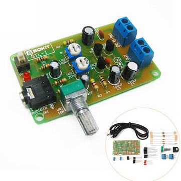 EQKIT® OTL-1 Power Amplifier Circuit DIY Kit High Sensitivity OTL Discrete Component Amplifier Kit