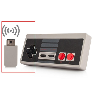 Wireless Controller Gamepad for Nintendo Mini Classic NES Console Controller