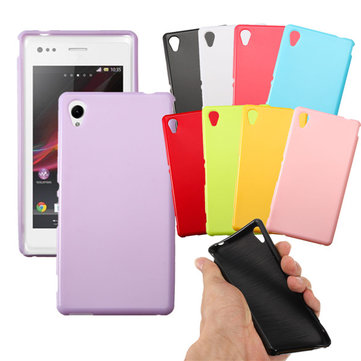 Soft TPU Durable Protective Back Cover Case For Sony Xperia M4 Aqua