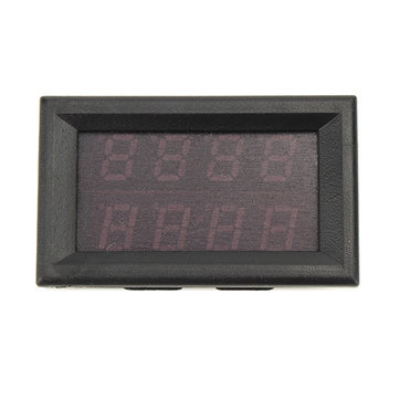 3pcs RUIDENG 0-33V 0-3A Four Bit Voltage Current Meter DC Double Digital LED Red+Red Display Volt Meterr Ammeter