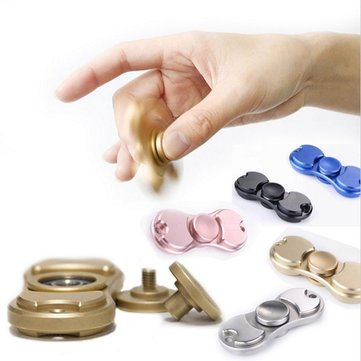 Rotating Fidget Hand Spinner ADHD Autism Fingertips Fingers Gyro Reduce Stress Focus Attention Toys