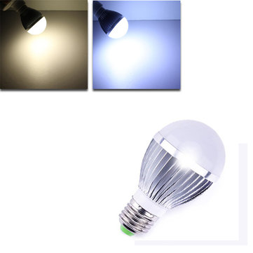 Dimmable E27 LED Bulbs 5W White/Warm White 5 LED Globe AC 220V