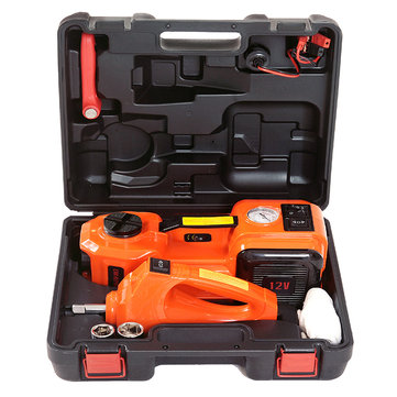 12V DC 5T 3-in-1 Auto Car Electric Hydraulic Floor Jack Lift And Impact Wrench