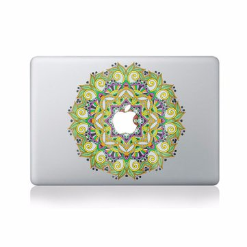 Green flower Decal Vinyl Sticker Skin Laptop Sticker Decal For Apple Macbook 11'' 12'' 13'' 15'' 17'