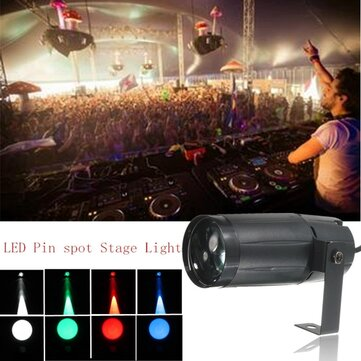 3W LED Moonflower Spotlight DJ Disco Party Club Stage Lighting