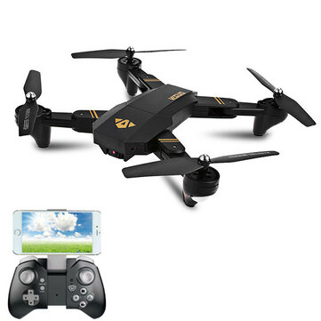 VISUO XS809W WIFI FPV With 2MP HD Camera Headless Mode Foldable Arm RC Drone Quadcopter RTF
