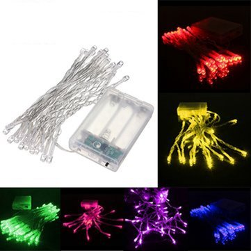 3M 30 LED Battery Powered Christmas Wedding Party String Fairy Light
