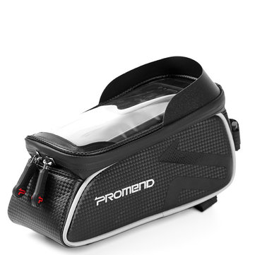 PROMEND SGB-14P58 6.2 inch Waterproof Touch Screen Ultralight 175g Bicycle Front Frame Tube Bag