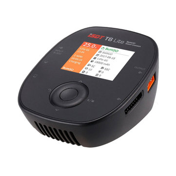 ISDT T6 Lite 600W 25A Smart Battery Balance Charger for 2S-6S Lipo Battery