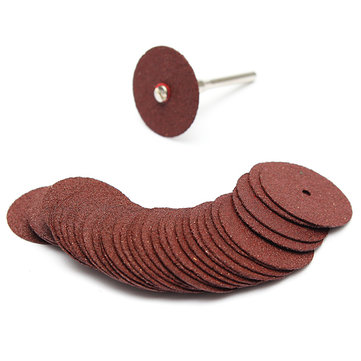 36PCS Resin Cutting Disc Kit For Dremel Rotary Hobby Tool Bit