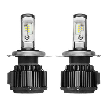 2PCS AKAS T6 70W 7000LM LED Car Headlights Bulbs H1 H3 H4 H7 H11/H8/H9 9005 9006 880 6000K White