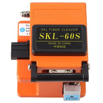 Raitool SKL-60S Optical Fiber Cutter Knife FTTH High Precision Fiber Cleaver Orange with bag